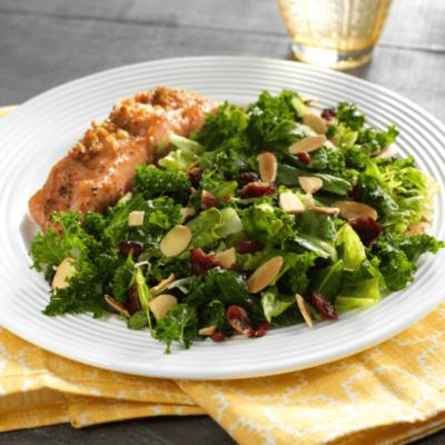 Sheet Pan Ginger-Soy Salmon with Citrus Salad