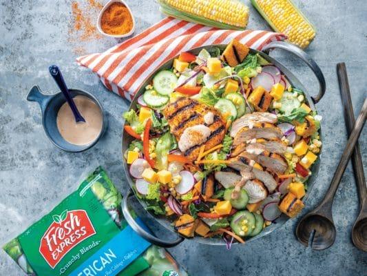 FreshExpress Grilled Chicken Salad