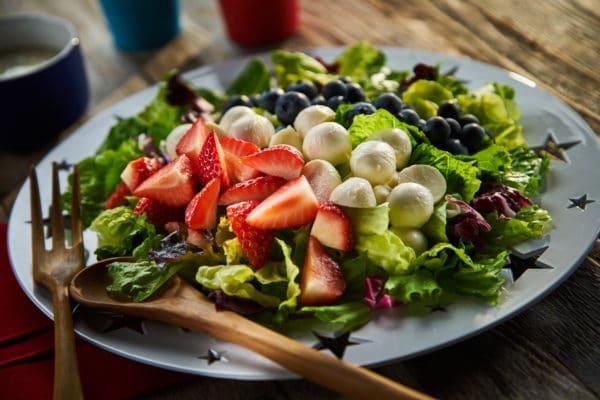 Red, White & Blueberry Mozzarella Salad