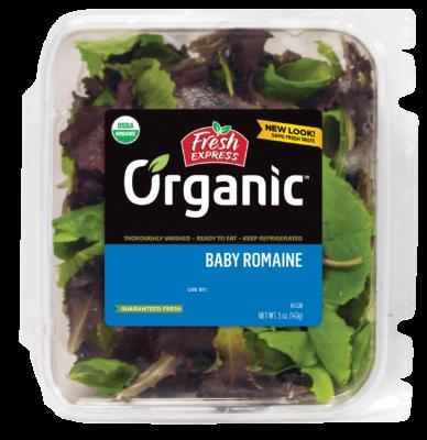 Organic Baby Romaine