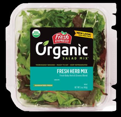Organic Fresh Herb Salad