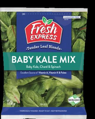 baby kale mix