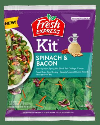 Spinach & Bacon Salad Kit