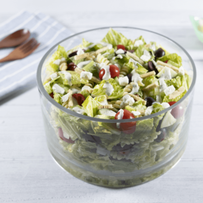 Greek Caesar Pasta Salad