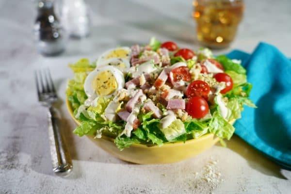 Ham Cobb Caesar Salad