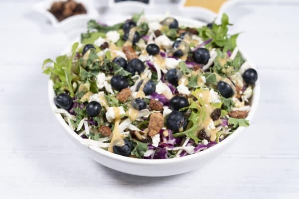 Honey Pecan Blueberry Salad