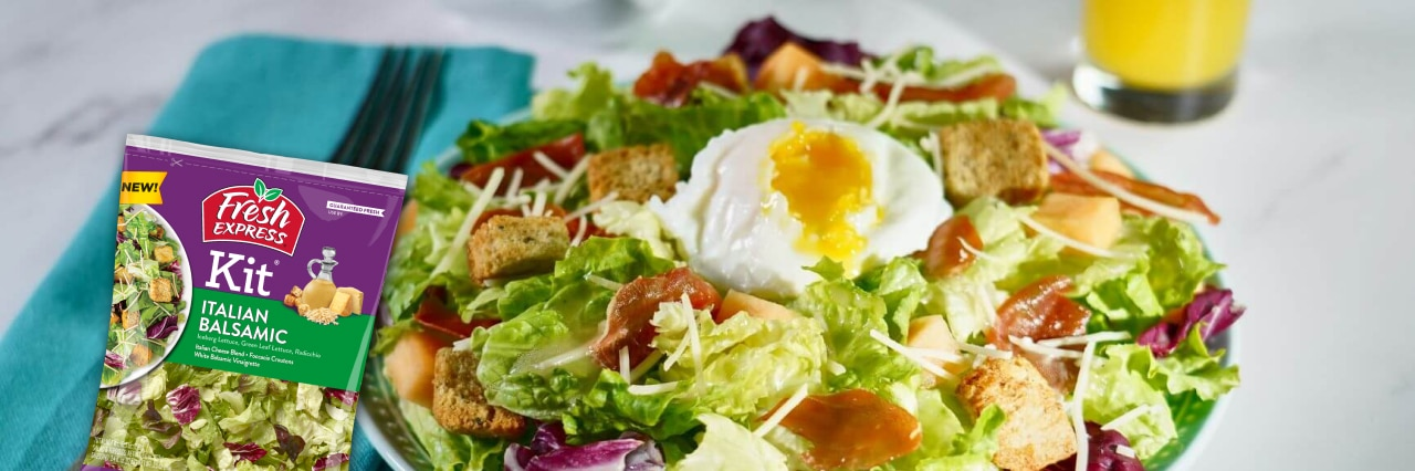 How about a salad for breakfast