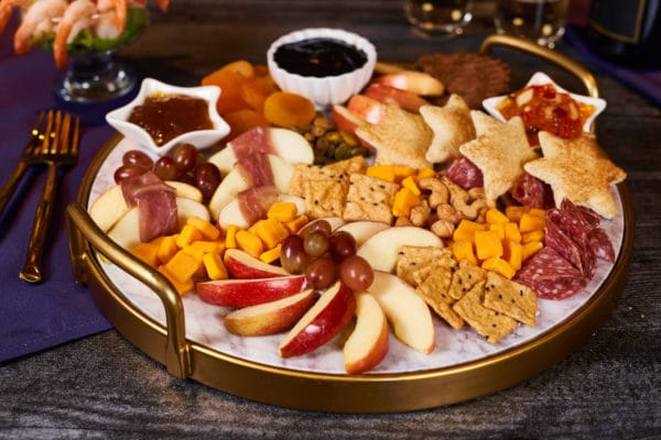 New Year's Eve Charcuterie Board