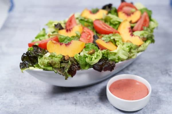 Summer Peach & Tomato Salad