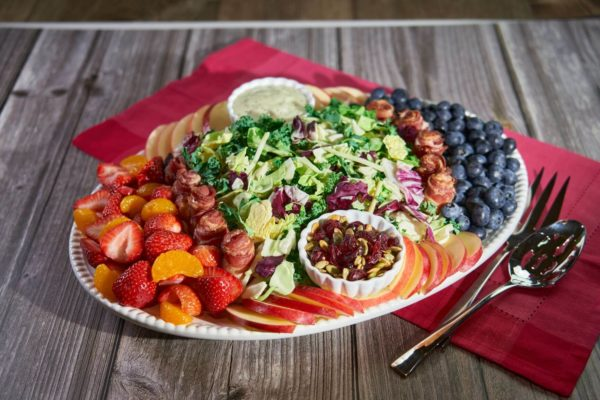 Charcuterie Kale Salad