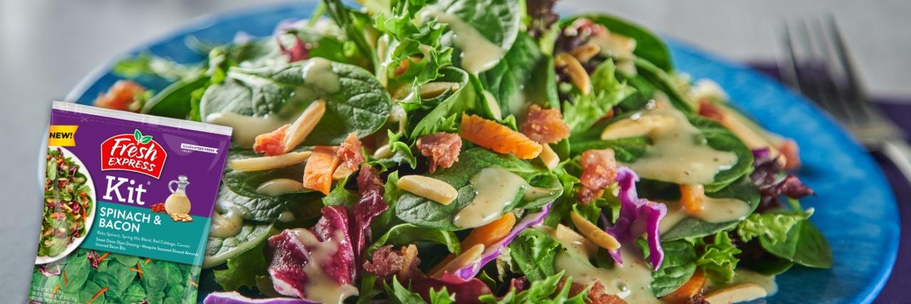 Spinach _ Bacon Salad Kit