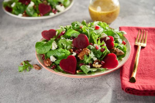 Spinach & Arugula Beet Salad