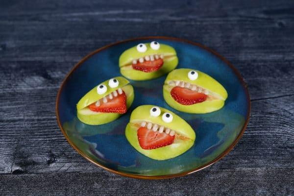 Apple Monster Snacks