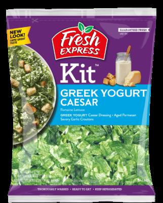 Caesar Salad Kit with Greek Yogurt Dressing