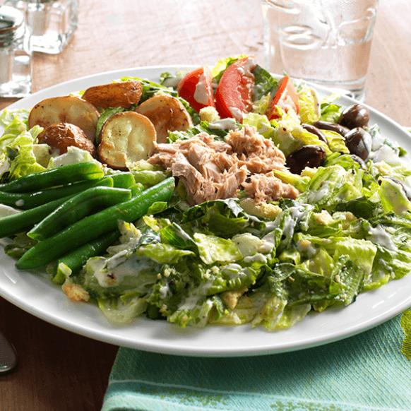 Caesar Niçoise Salad