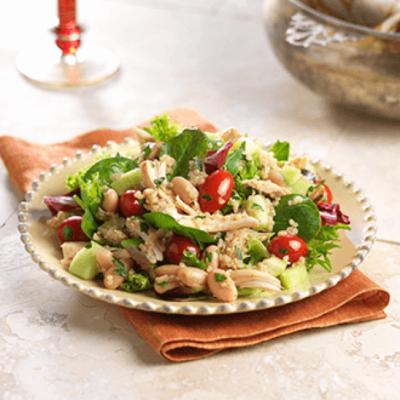 Chicken & Quinoa with Cumin Vinaigrette