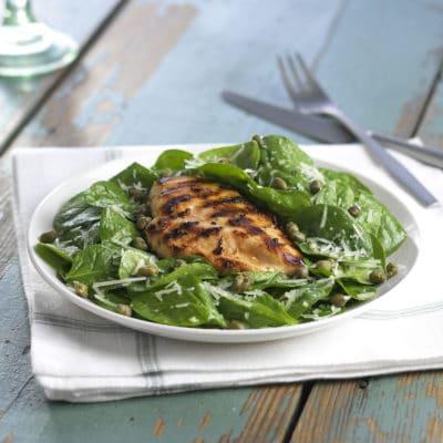 Organic Lemon Chicken & Spinach