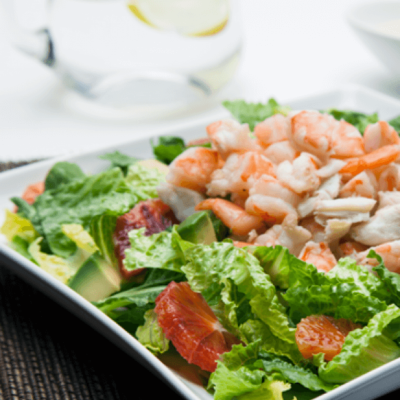 Crab & Shrimp Citrus Dijon Salad