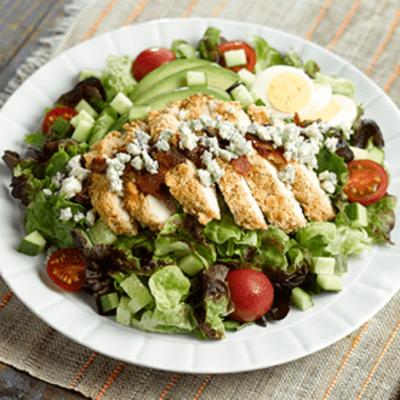 Cracker-Crusted Chicken Salad