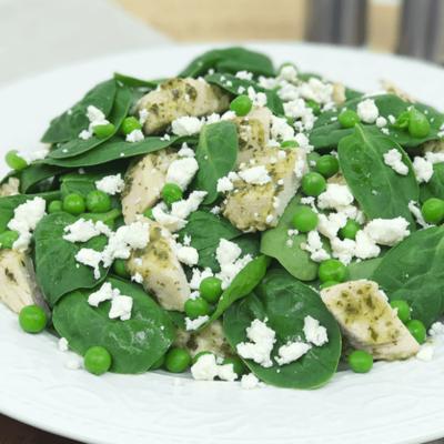 Chicken Pesto Spinach