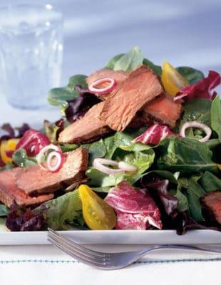 Grilled Steak & Spring Mix