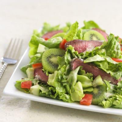 Kiwi Steak Salad