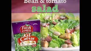 Bacon, White Bean & Tomato Salad