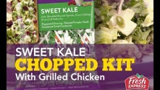 Sweet Kale Salad with Grilled Chicken – Fresh Express