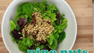Herb Salad with Fresh Figs