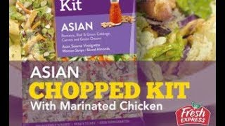 Asian Chopped Salad with Marinated Chicken – Fresh Express Recipe