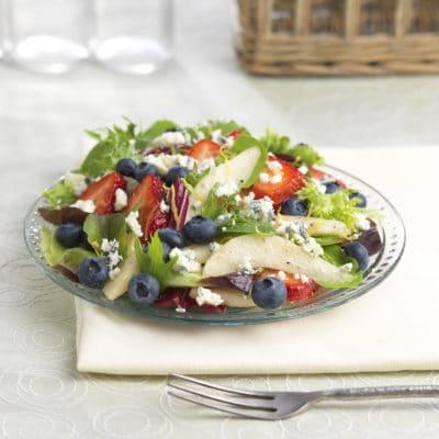 Red, White & Blue Gorgonzola Salad