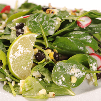 Southwestern Spinach & Brown Rice Salad