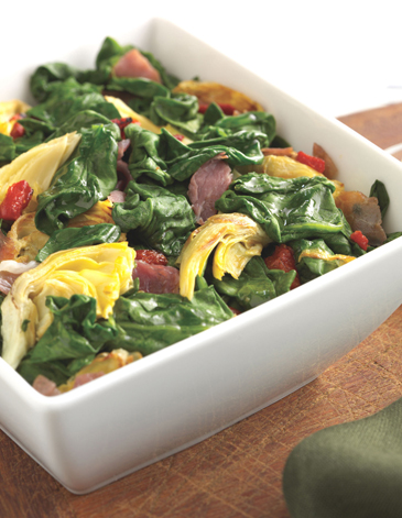 Spinach & Prosciutto