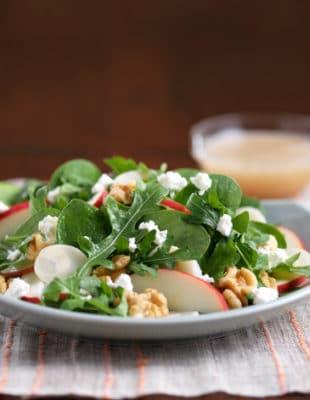 Spinach, Arugula & Apple Salad