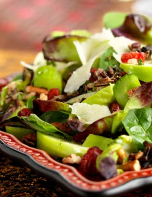 Tender Ruby™ Red Salad with Wild Rice