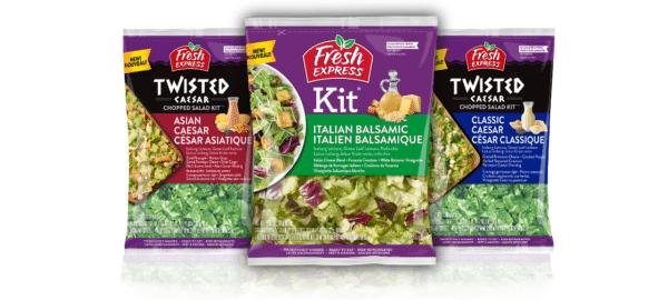 Canadian new salad kits