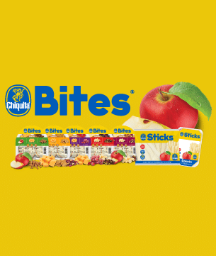 Snack time just got a little healthier with Chiquita Bites.