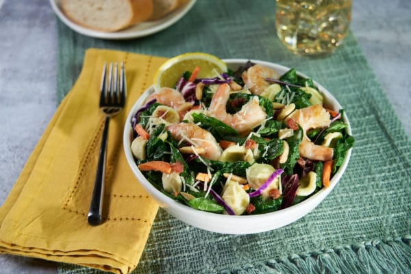 Shrimp & Spinach Orecchiette