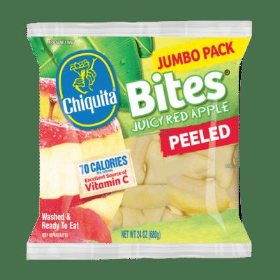 Peeled Red Apple Bites Jumbo Pack