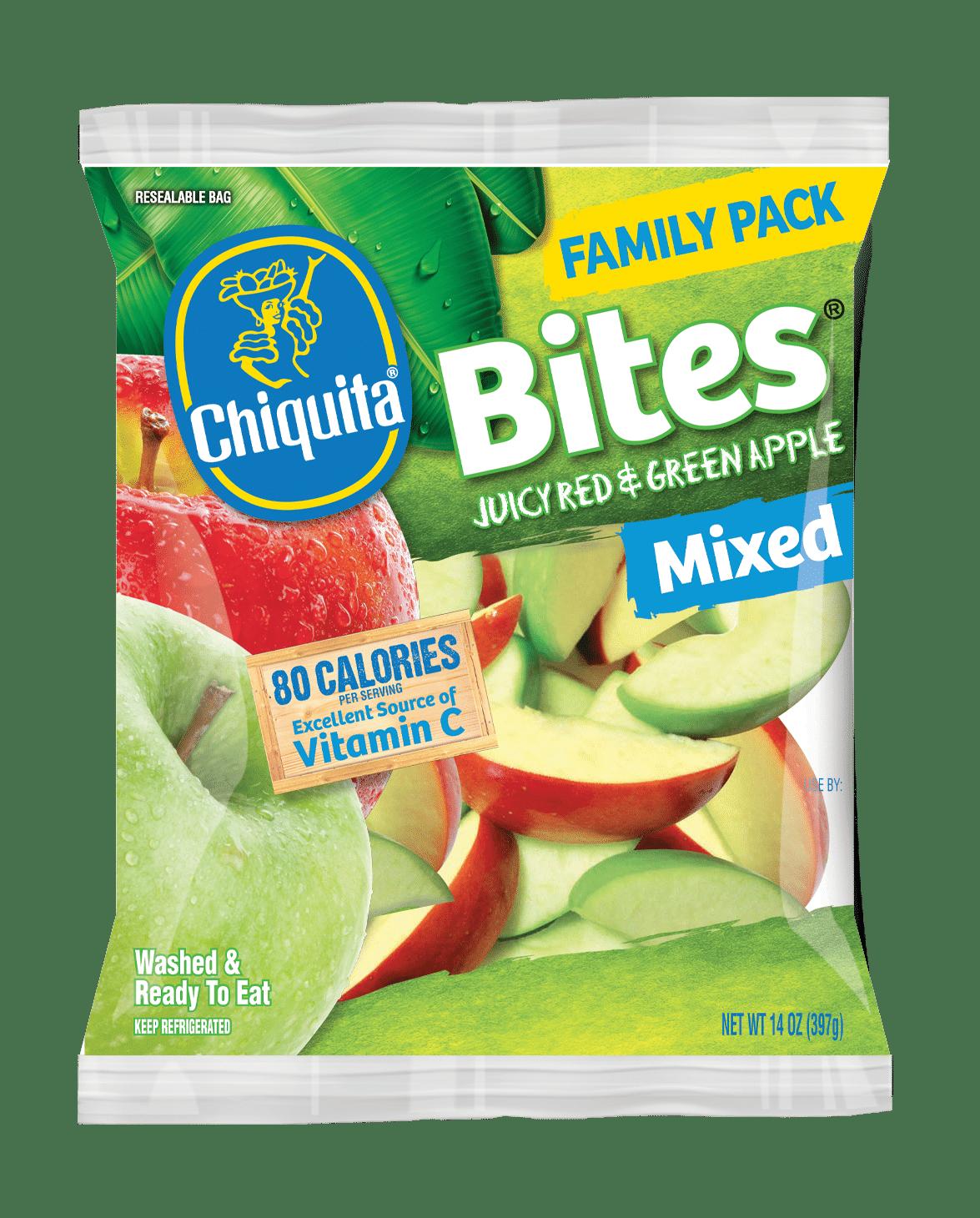 Red & Green Apple Bites Family Pack