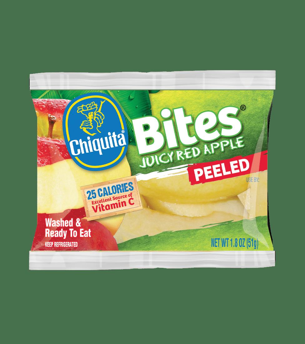Peeled Red Apple Bites