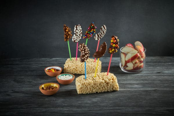 Chocolate Covered Apple Kabobs