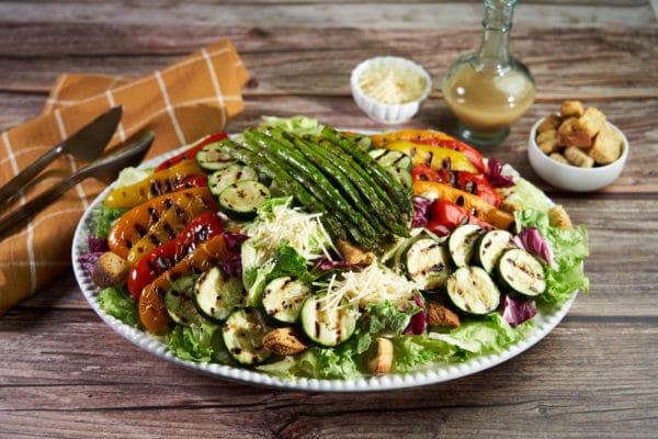 Grilled Vegetable Italian Salad